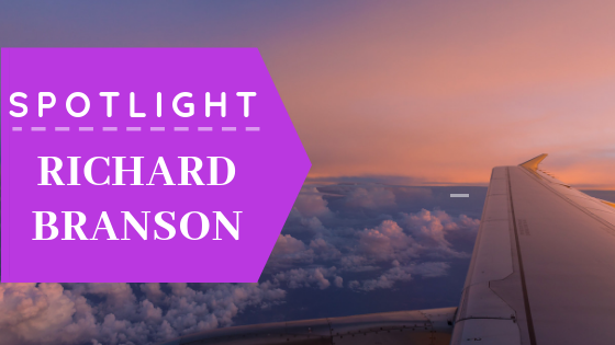 Aaron Sansoni - Think Like Spotlight Richard Branson Blog Header