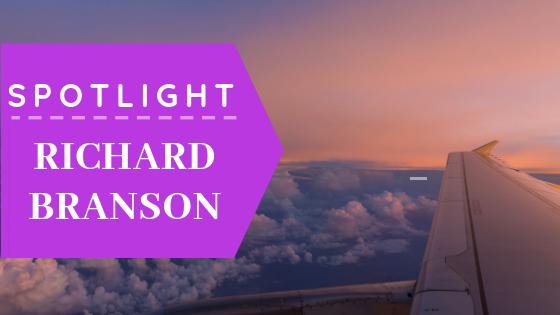 Aaron Sansoni - Think Like Spotlight Richard Branson Blog Header