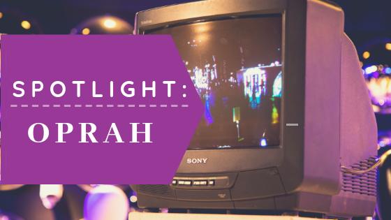 Aaron Sansoni - Spotlight Oprah Winfrey Blog Header